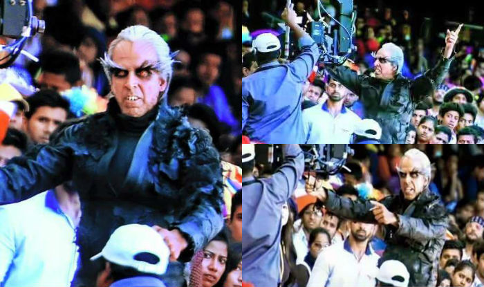 Akshay Kumar as crow man in Robot 2