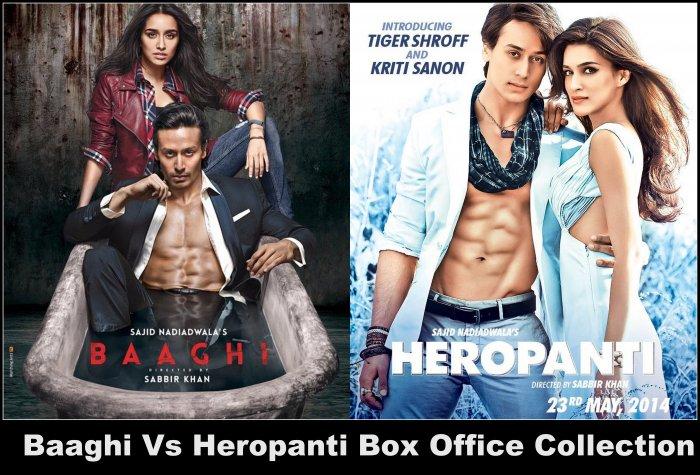 Baaghi Vs Heropanti | Box Office Comparison of Tiger Shroff's Movies