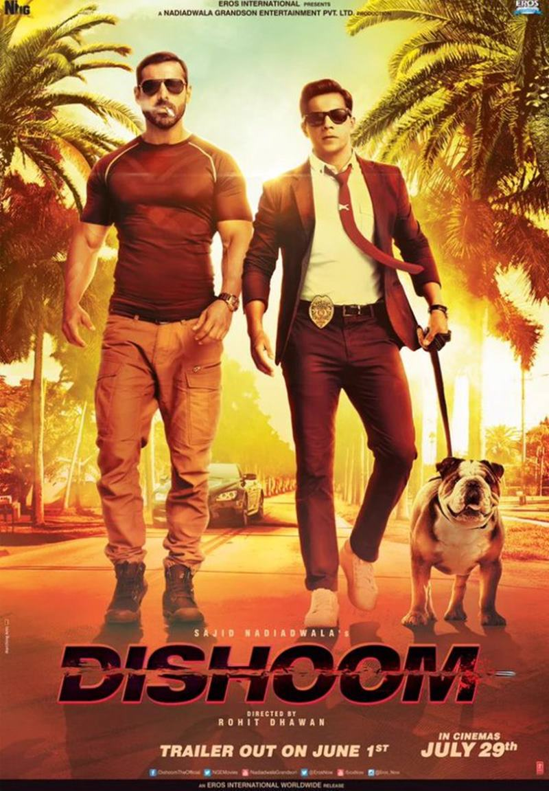 John Abraham and Varun Dhawan are full of swag in new Dishoom Poster