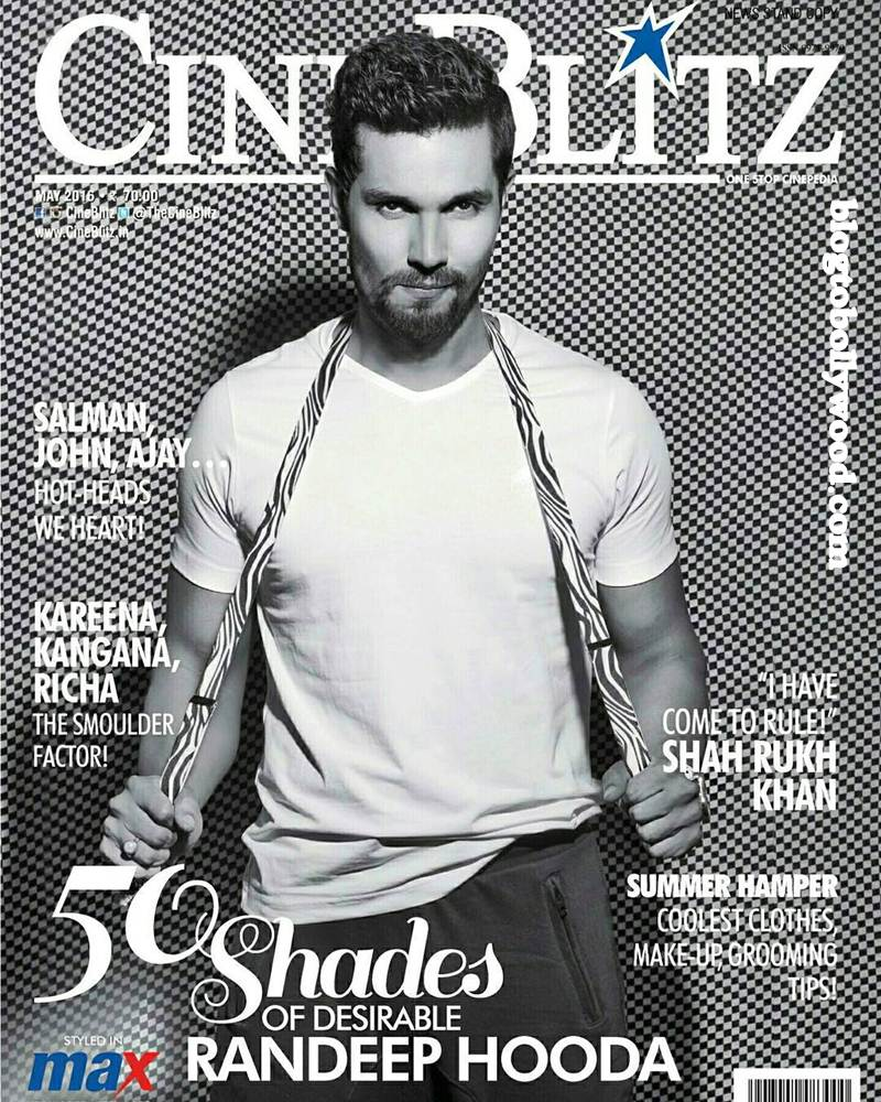 50 Shades of Desire: Randeep Hooda on the cover of CineBlitz Magazine