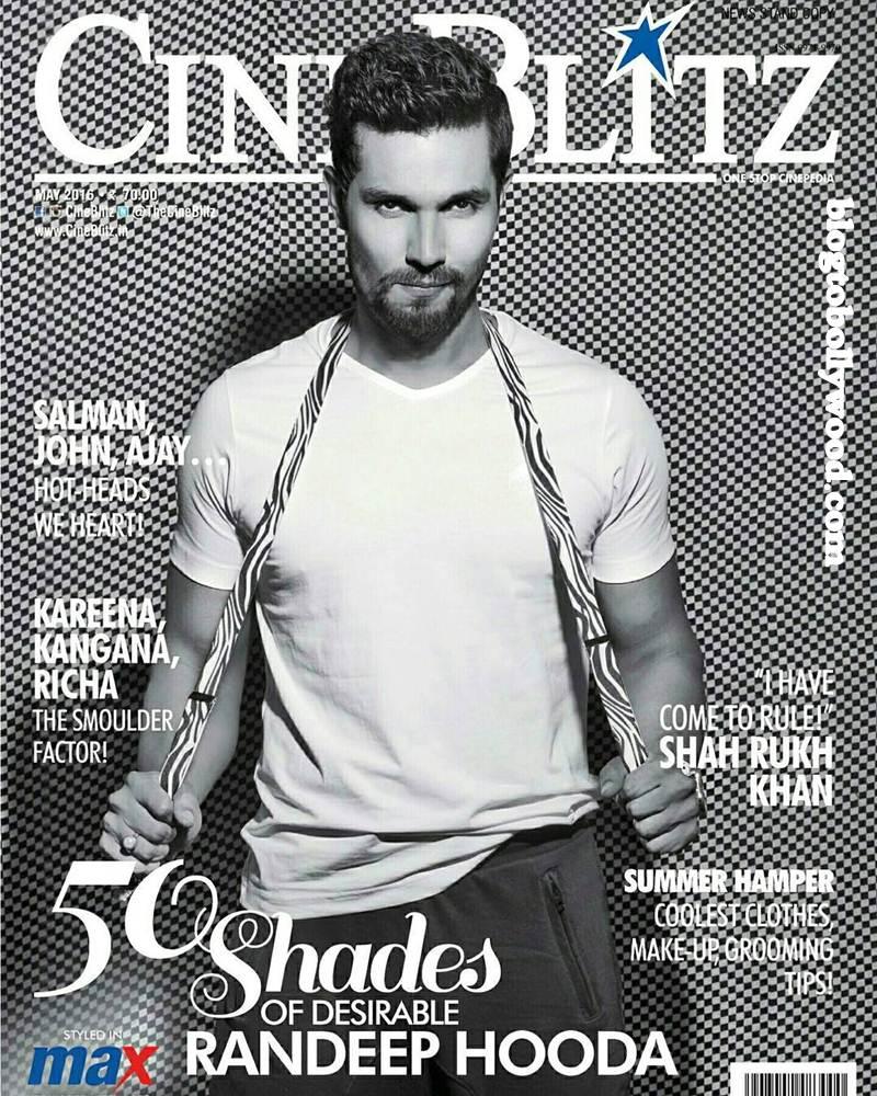 50 Shades of Desire: Randeep Hooda on the cover of CineBlitz Magazine