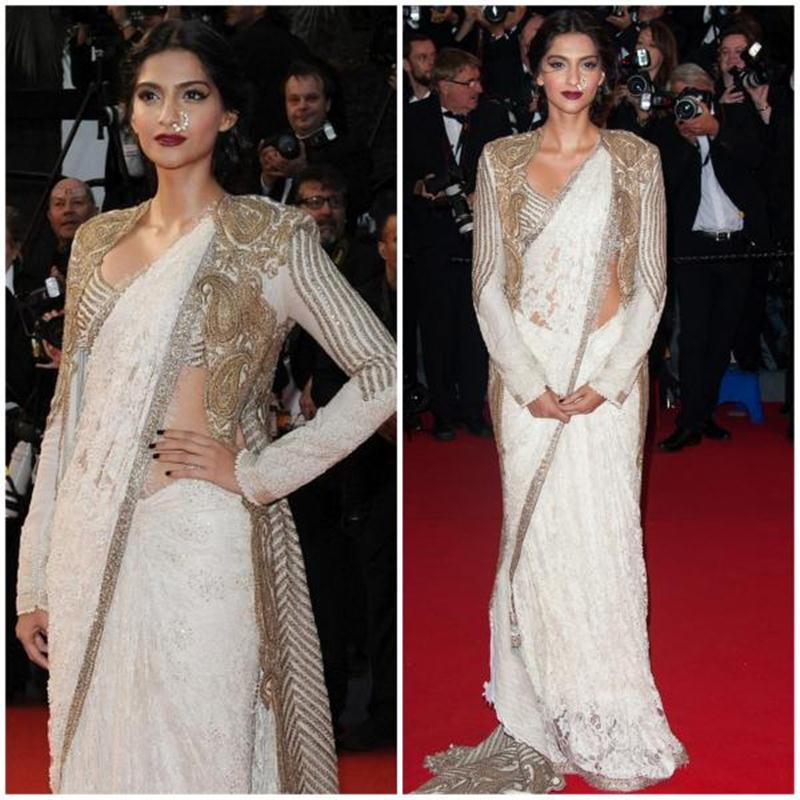 Aishwarya Rai Bachchan and Sonam Kapoor's various looks at Cannes over the years- Sonam 2013 1