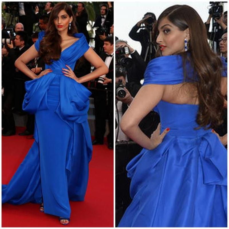 Aishwarya Rai Bachchan and Sonam Kapoor's various looks at Cannes over the years- Sonam 2015 1