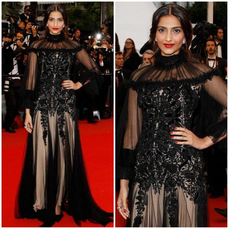 Aishwarya Rai Bachchan and Sonam Kapoor's various looks at Cannes over the years- Sonam 2012 2