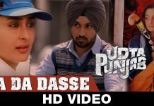 Da Da Dasse video song - Udta Punjab