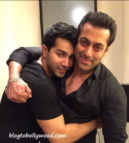 Varun Dhawan Reminds Me Of My Younger Version: Salman Khan