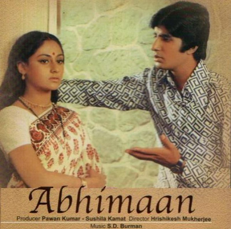 Top 10 Amitabh Bachchan Movies that every Bollywood Lover must watch- Abhimaan