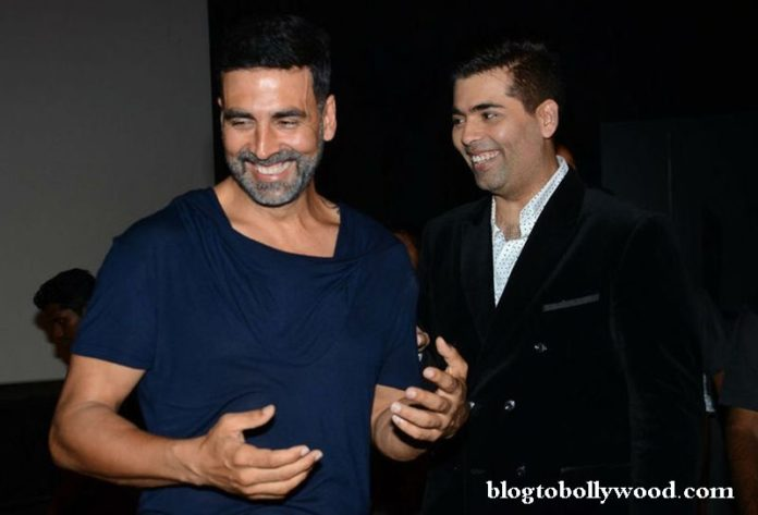 Akshay Kumar and Karan Johar to reunite once again after 'Brothers'