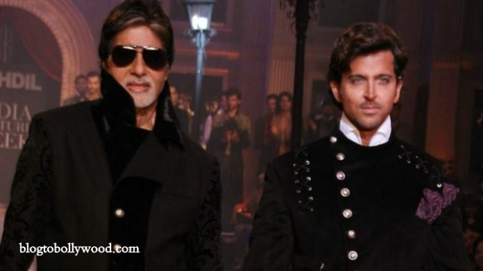 Amitabh Bachchan And Hrithik Roshan To Reunite For YRF's 'Thug'