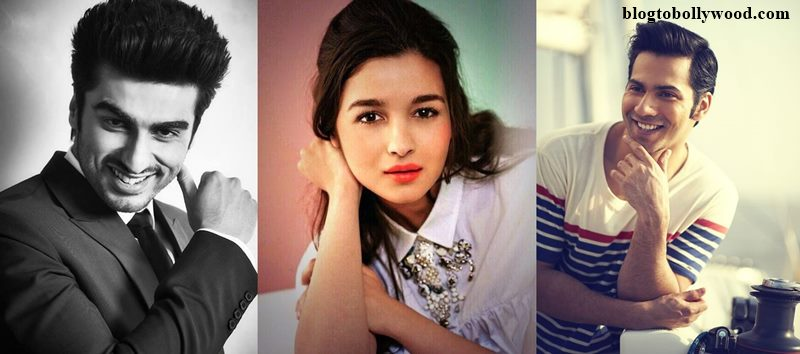 Wow! Arjun Kapoor, Alia Bhatt and Varun Dhawan to work together!