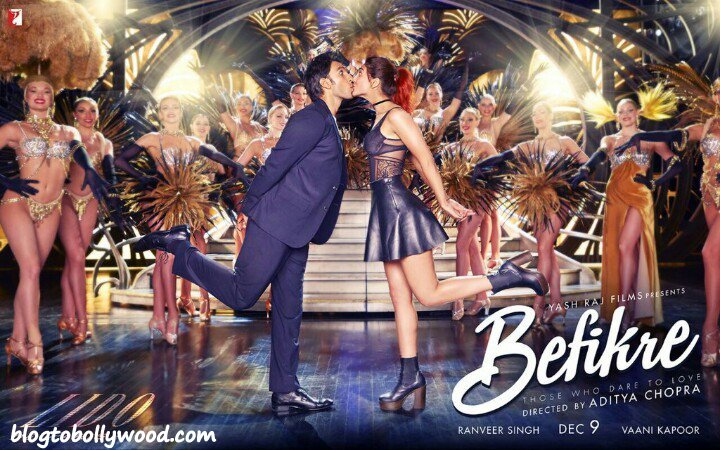 Befikre New Poster: Ranveer Singh And Vaani Kapoor Are Kissing Again