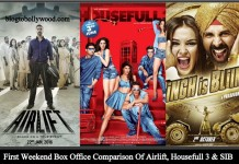 Housefull 3 Vs Airlift Vs Singh Is Bling Vs Rowdy Rathore Vs Gabbar Is Back Box Office Collection