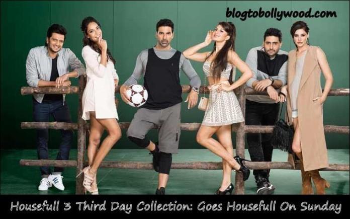 Housefull 3 3rd Day Collection | 'Housefull 3' Goes Housefull On Sunday