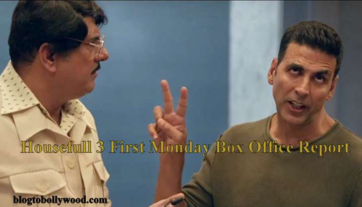 Housefull 3 4th Day Box Office Collection | Rock Steady On Monday