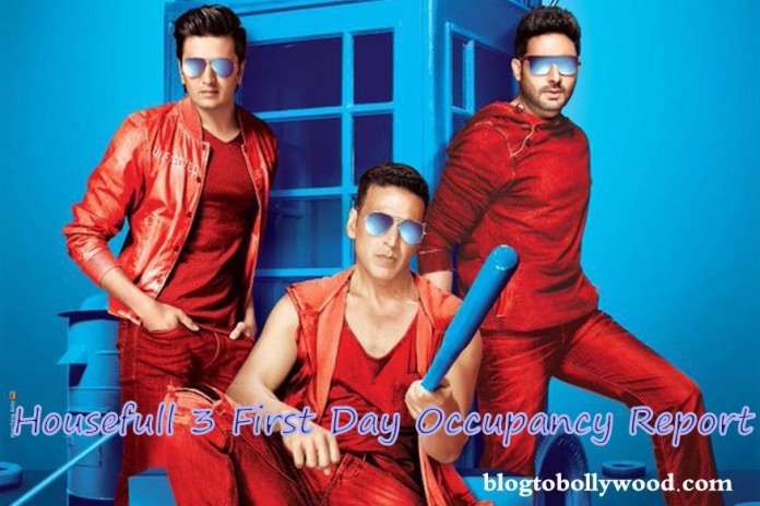 Housefull 3 First Day Report | Morning Shows Opened To Good Occupancy