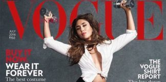 Kareena Kapoor Khan shows her power in the new Vogue Cover