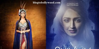 First Look: Pooja Hegde In Mohenjo Daro, Sayyeshaa In Shivaay