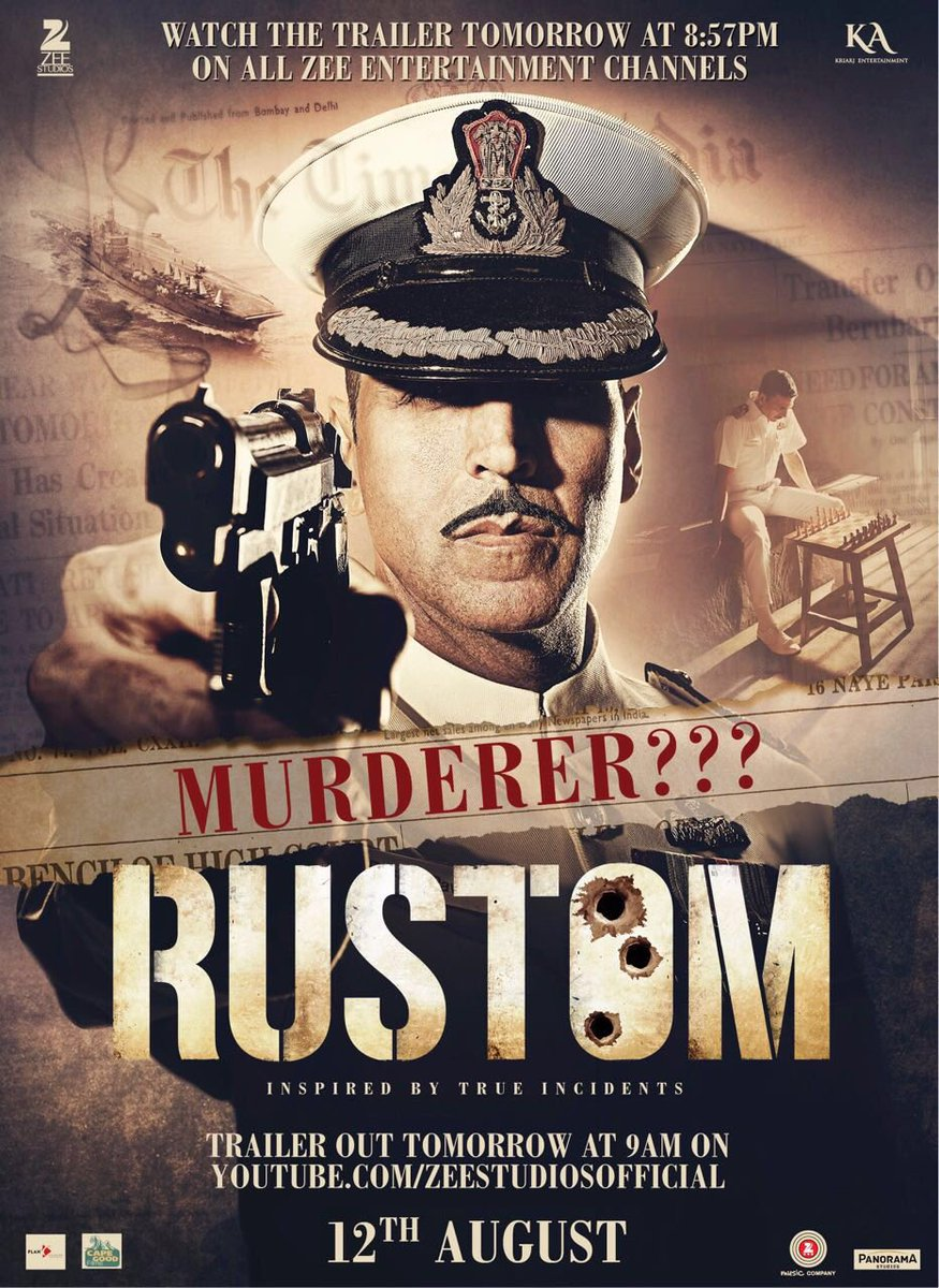 Akshay Kumar Is Murderer In This New Poster Of Rustom