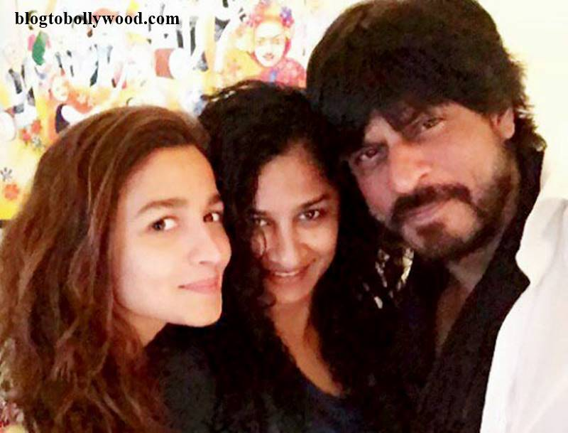 SRK Alia and Gauri