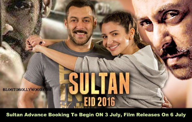 Official: Sultan Advance Booking To Begin On 3rd July, Film Releases On 6th July