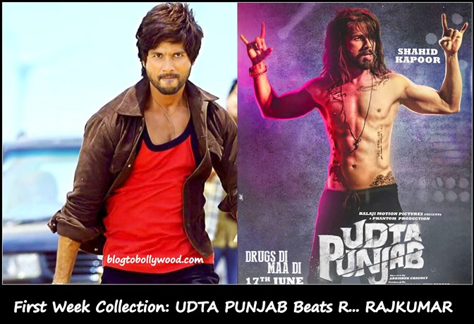 Udta Punjab First Week Collection: Beats R... Rajkumar