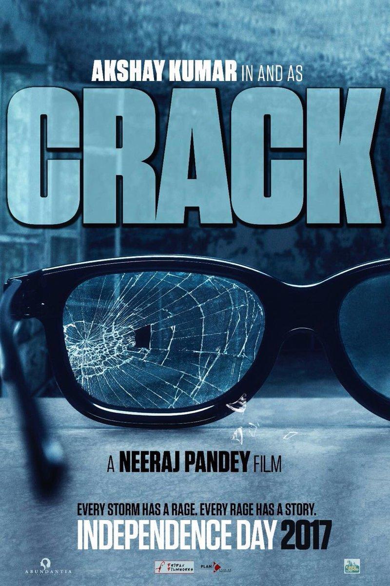 Akshay Kumar upcoming movie - Crack Poster