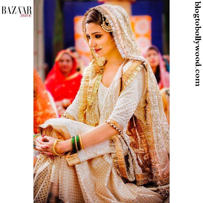 Exclusive Sneak Peek: Anushka Sharma's Bridal look from Sultan