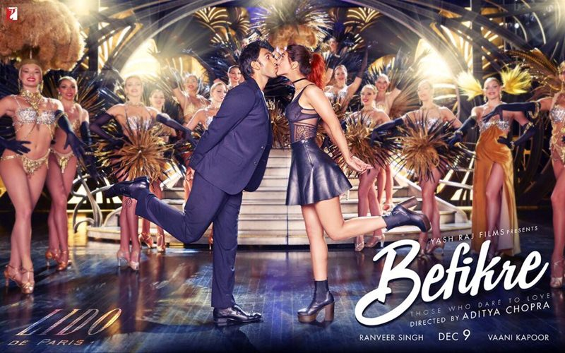 Hot Hot Hot! The fourth poster of Befikre takes romance to a whole new level!- Befikre 3