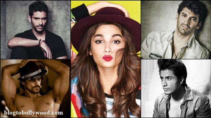 Alia Bhatt shoots a party song for Dear Zindagi with Aditya, Ali, Angad and Kunal