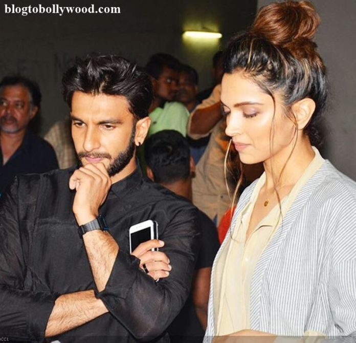 Deepika Padukone again asked about her engagement with Ranveer, Ranveer annoyed