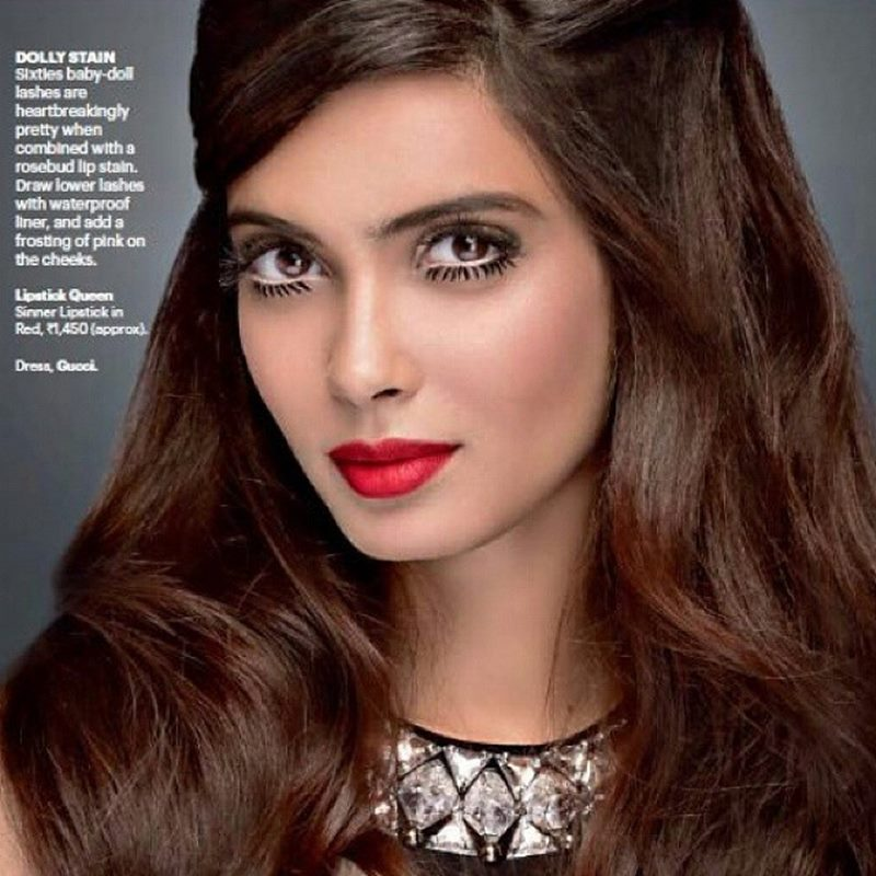 10 Beautiful Pictures of Diana Penty who is making her comeback with Happy Bhag Jayegi- Diana Eyelashes
