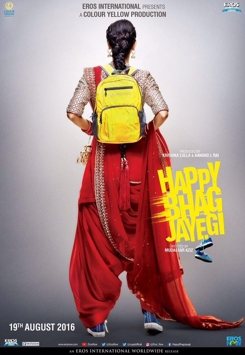 You have got to check out these posters Warna Happy Bhag Jayegi!- HBJ Poster 1