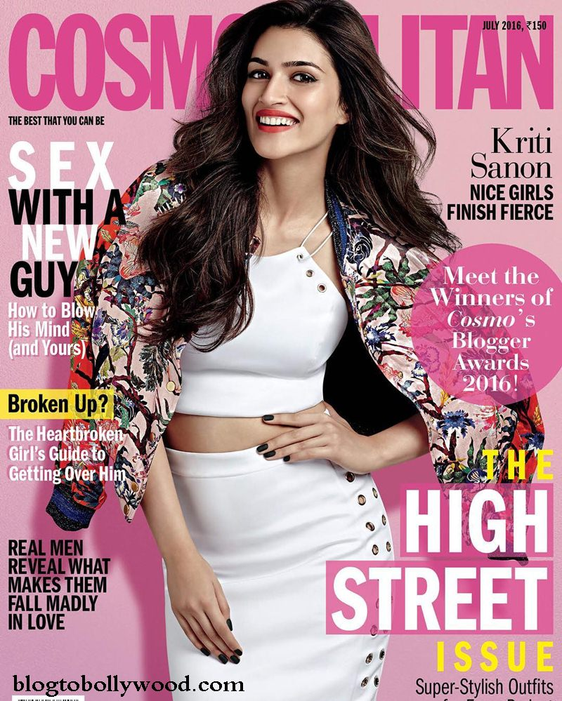 A breath of fresh air! Kriti Sanon on the cover of Cosmopolitan India