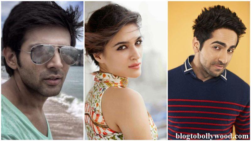 Kriti Sanon's next project will have either Kartik Aaryan or Ayushmann Khurrana!
