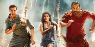 Varun Dhawan, John Abraham, Jacqueline Fernandez are on the run in new Dishoom poster
