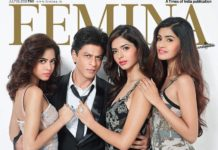 Shah Rukh Khan is the Ladies Man in the latest Femina cover!