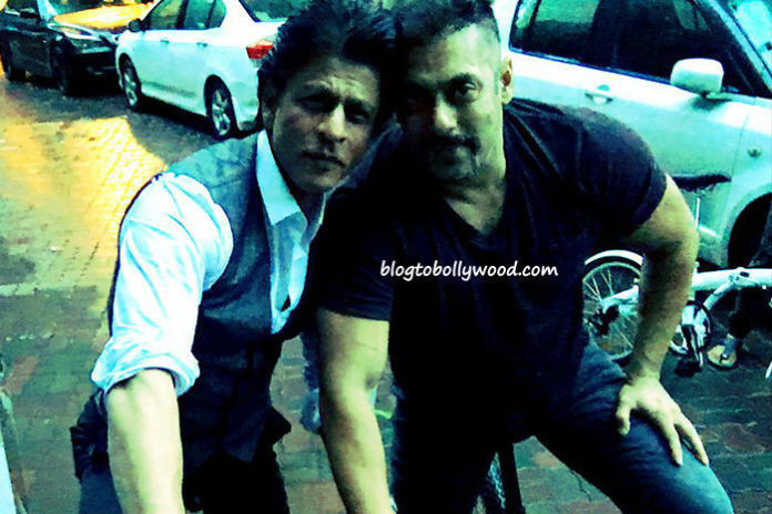 Photo Alert: Salman Khan and Shahrukh Khan Budding Over Cycling