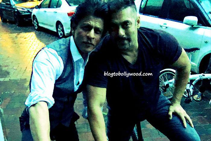 Photo Alert: Salman Khan and Shahrukh Khan Budding Over Cycling