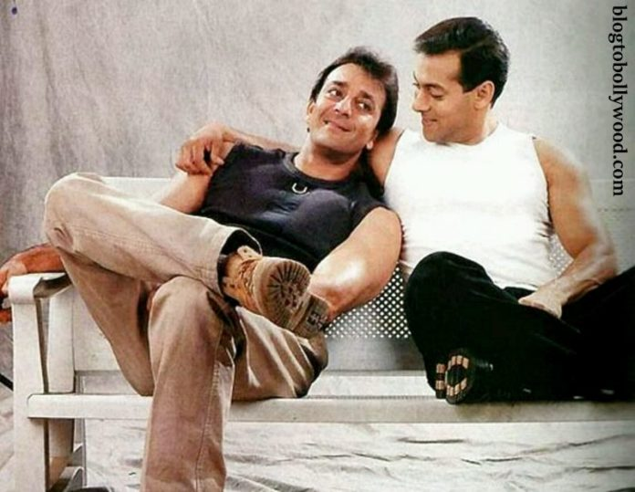 Good news! Everything is A-OK between Salman Khan and Sanjay Dutt!
