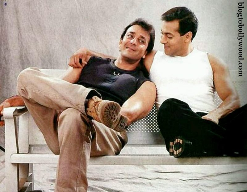 Good news! Everything is A-OK between Salman Khan and Sanjay Dutt!