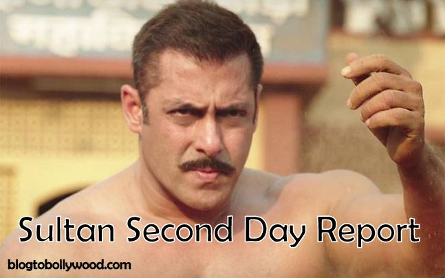 Official Box Office Update : Sultan Second Day Collection And Occupancy Report