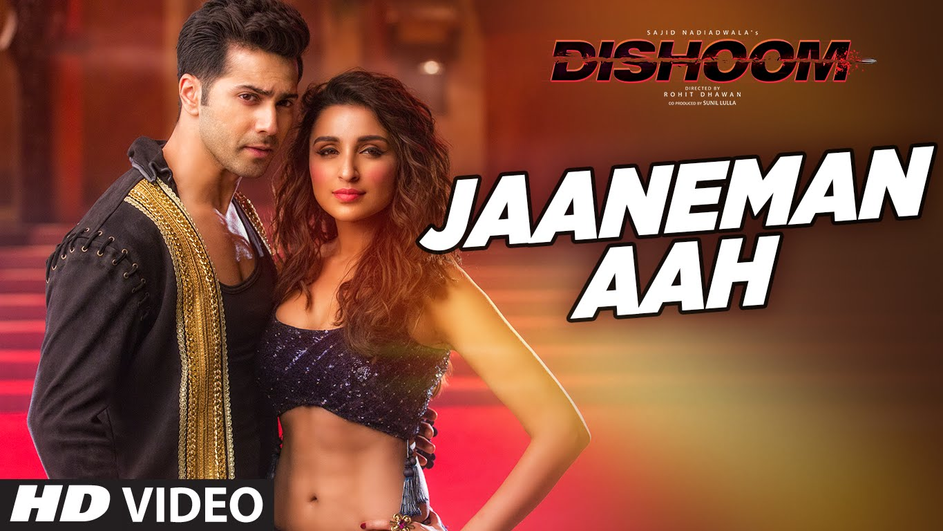 Varun Dhawan and Parineeti Chopra seal it with a kiss in Jaaneman Aah!