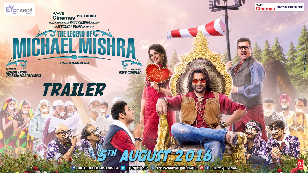 Trailer Alert: The Legend Of Michael Mishra Starring Arshad Warsi And Aditi Rao Hydari