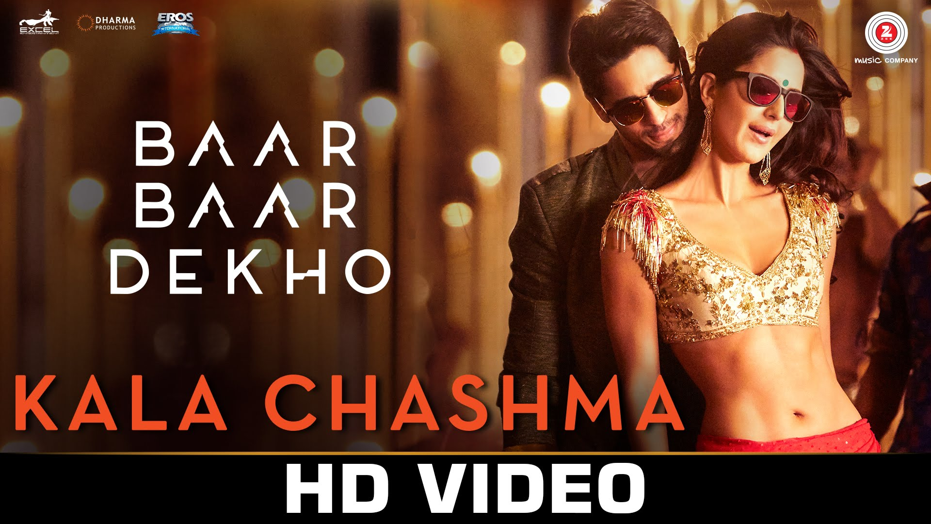 Get the party started with Kala Chashma song from Baar Baar Dekho!