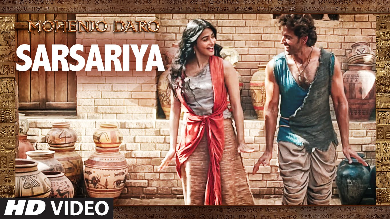 Chaani breaks rules and runs freely in the song Sarsariya from Mohenjo Daro