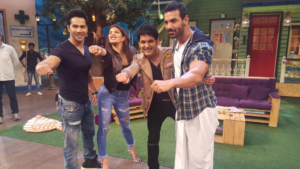 Team Dishoom on TKSS