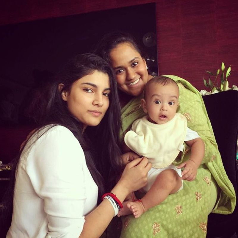 Pictures | Arpita Khan Sharma shared some great pics of the Khan's Rakhi celebration- Ahil with Alizeh