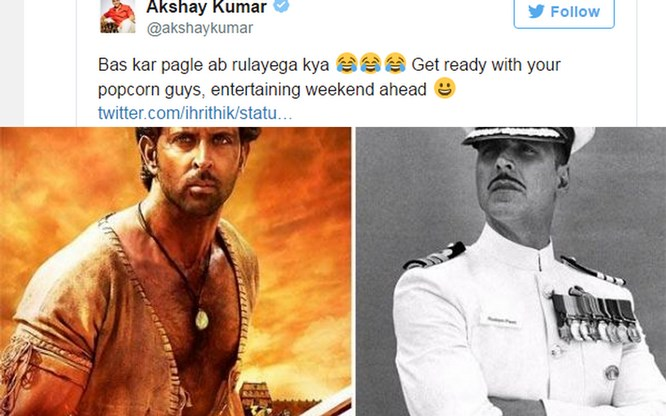 Akshay and Hrithik Are Chatting On Twitter & We Are Absolutely Loving It