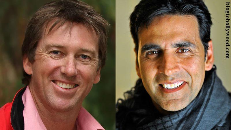 Australian Cricketer Glenn McGrath would like Akshay Kumar to play him in his biopic!