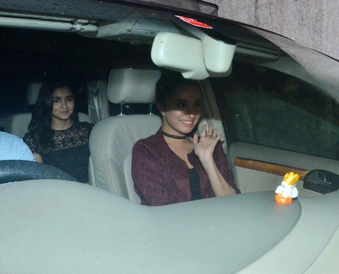 Alia Bhatt and Shraddha together for Akshay Kumar's Party